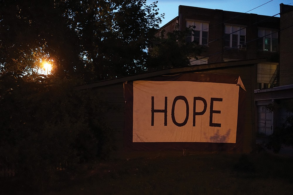 While Hudson grapples with gentrification and environmental threats, a spirit of hope still reigns in the city. - PHOTO: JOHN GARAY