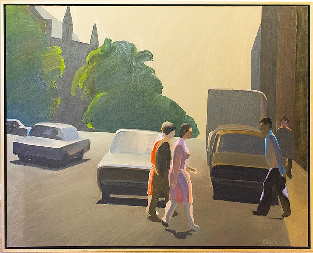 """""""110 St. Crossing"""" by William Clutz"""