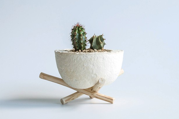 Planter designed by Melissa Kumpmann.