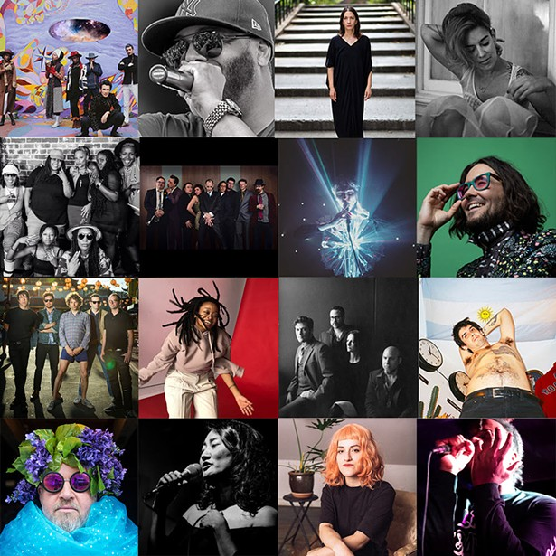 Some of the 2019 lineup. - PHOTOS COURTESY OF O+ FESTIVAL