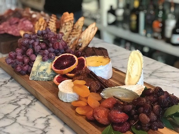 Home/Made Hudson's cheese board.