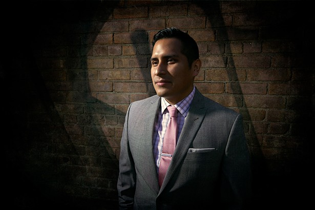 Victor Cueva is an attorney with catholic charities. - PHOTO: DAVID MCINTYRE