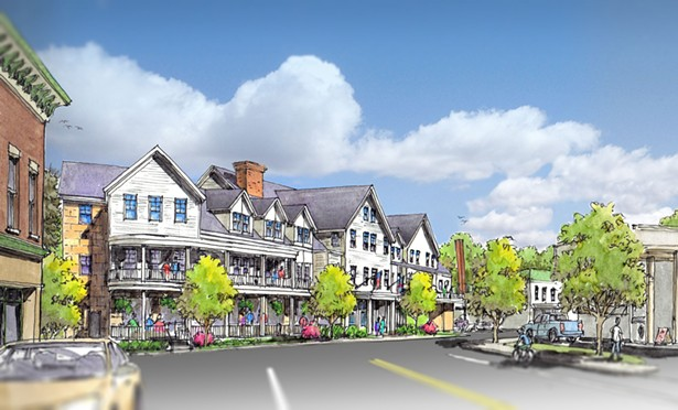Adirondack 4-star hotel, Tupper Lake New York, designed by AJA Architecture and Planning - AJA ARCHITECTURE AND PLANNING