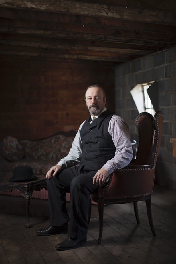 The late, great Angus MacDonald, cofounder and original distiller of Coppersea Distillery.