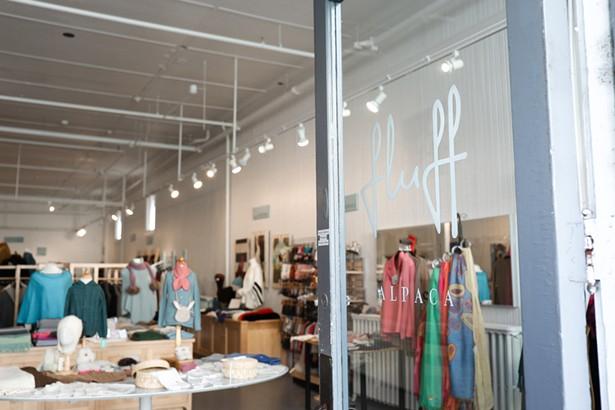 Fluff Alpaca's retail shop in Hudson.
