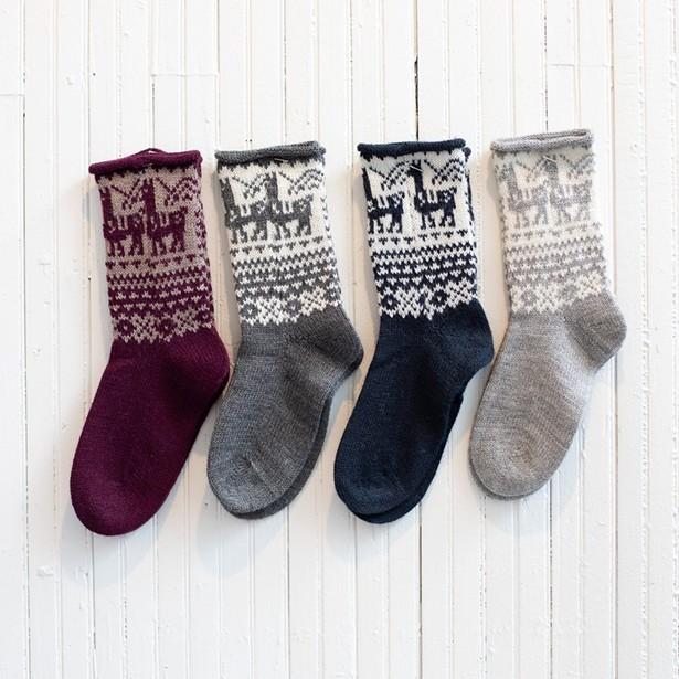 Fluff Alpaca socks.