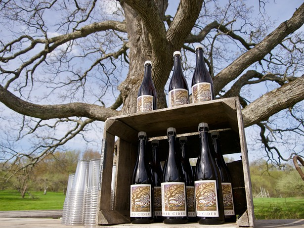 Traditional Hard Cider from Hudson Valley Farmhouse Cider