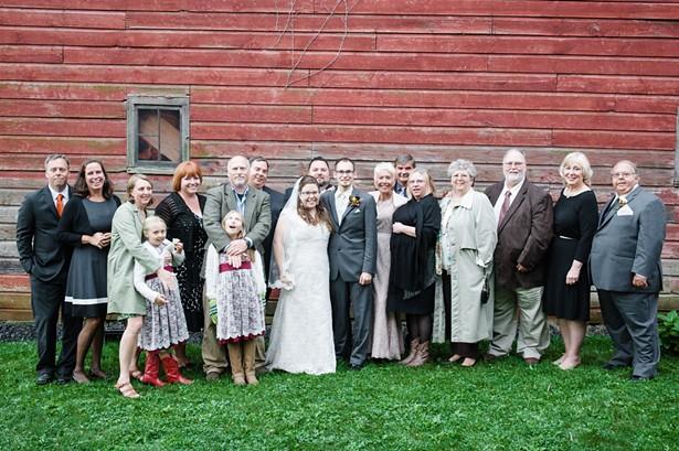 The extended Mahoney family.