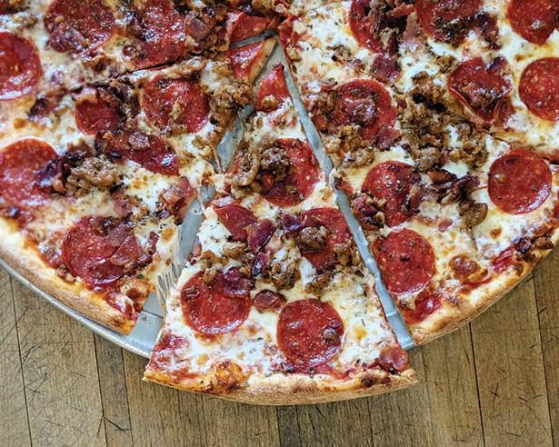 Catskill Mountain Pizza in Woodstock.