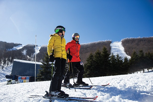 For the 2020 season, Plattekill Mountain has added a Junior Alpine Race program. - PHOTO: ROB TRINGALI