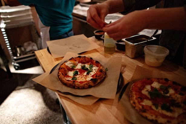 The Margherita pizza expresses chef Zach Wade's commitment to simplicity and quality ingredients. - LINDSAY TALLEY