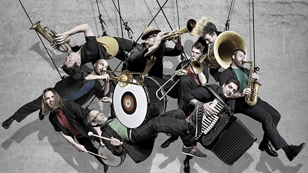 Slavic Soul Party bring the Balkan funk to Hudson Hall on February 16.