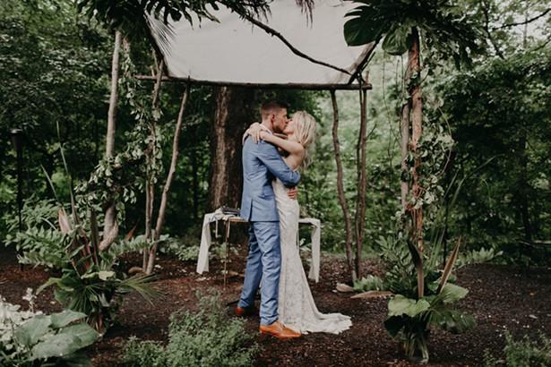 Foxfire Mountain House Wedding.