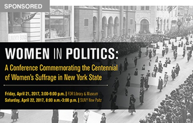 SUNY New Paltz to cohost women's suffrage centennial conference, April 21 & 22