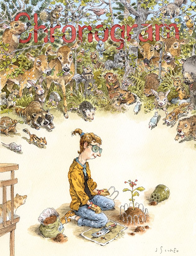 On the Cover of <i>Chronogram</i>: John Cuneo's Watercolor Illustration