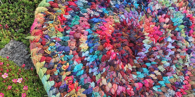 Upcycled Textile Marvels & More at Holiday Shindy
