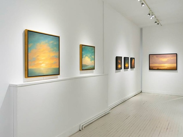 """""""A Quiet Respite"""" at the Carrie Haddad Gallery and the Ethereal Landscapes of Jane Bloodgood-Abrams"""