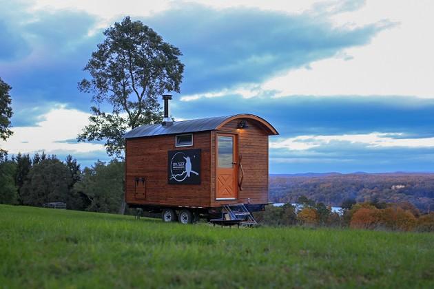 Spa Fleet's Mobile Sauna Comes to You