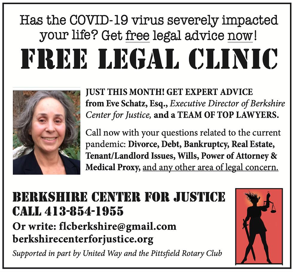 COVID 19 FREE LEGAL CLINIC