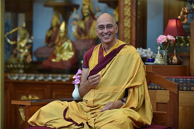 Buddhist Monk Gen Samten Kelsang, Resident Teacher at Kadampa Meditation Center New York