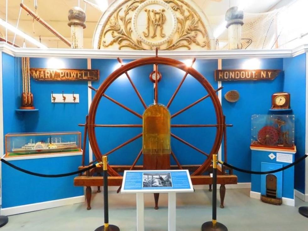 Hudson River Maritime Museum in Kingston
