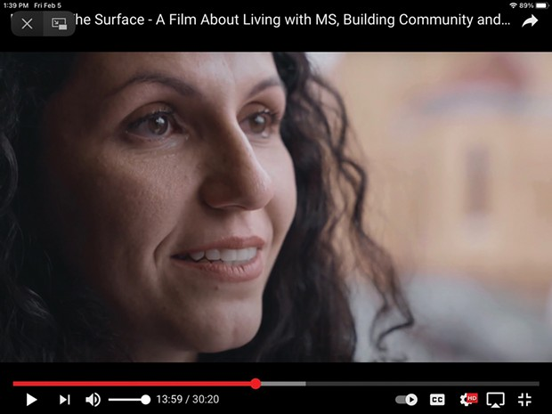Scenes from Beneath The Surface: A Film About Living with MS