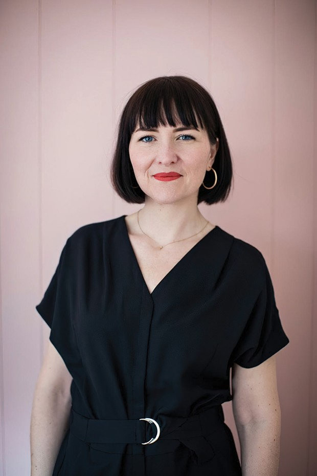 Anna Conlan, newly appointed executive director of the Dorsky Museum.