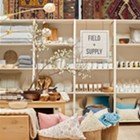 Name in Lights: Field + Supply Heads to Broadway with a Pop Up at ABC Home & Carpet