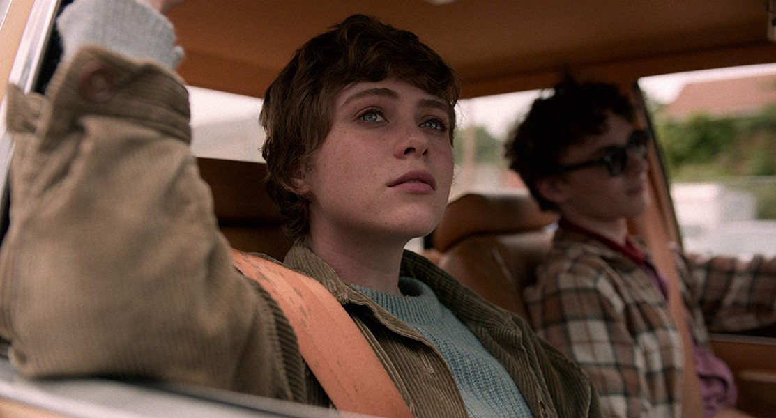 """Sophia Lillis and Wyatt Oleff in """"I Am Not Okay with This"""" (2020) - COURTESY OF NETFLIX"""