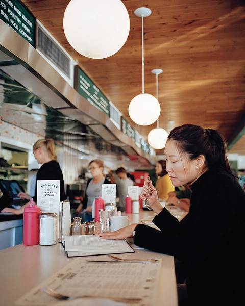 PHOTO BY OF THE PHOENICIA DINER BY K. TRAGESER