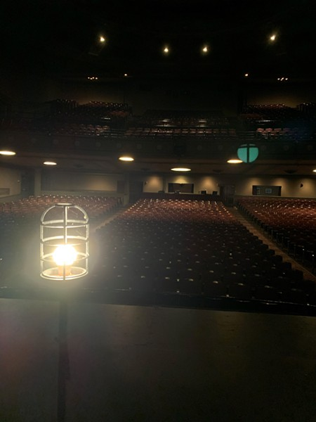 The ghost lights at UPAC in Kingston are on for the duration.