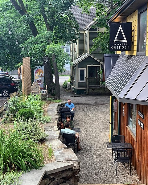 Arrowood Outpost in New Paltz