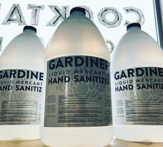 Gardiner Liquid Mercantile hand sanitizer