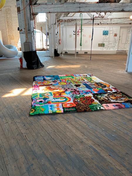 Memory Blanket, Jacinta Bunnell