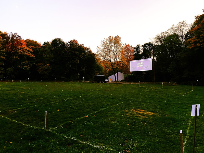 Story Screen drive-in. - MIKE BURDGE