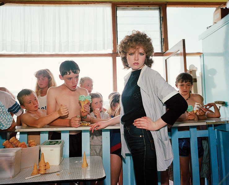 "From the ""Last Resort: Photographs of New Brighton"" - MARTIN PARR"