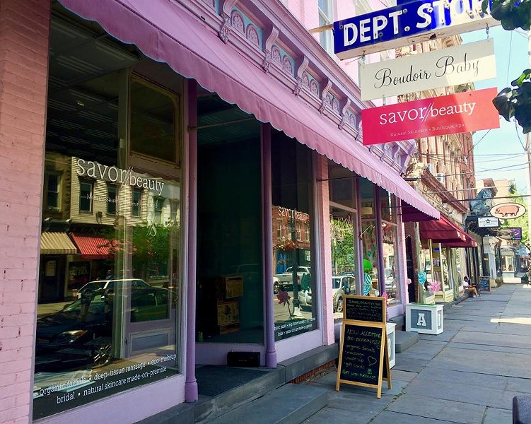 The new storefront at 114 Partition Street in Saugerties.