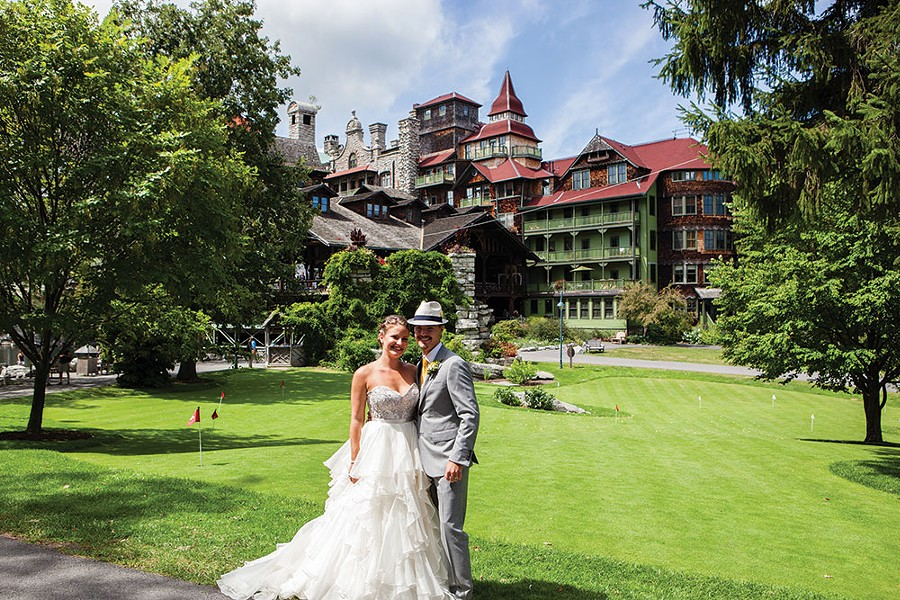 Wedding at Mohonk Mountain House in New Paltz - CAITLIN MAHAR DANIELS PHOTOGRAPHY