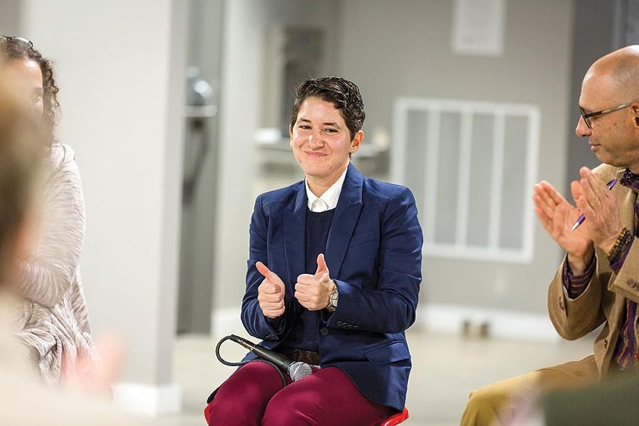Sarah Salem, development associate at Dutchess Outreach and Ward 2 City Council member. - RICHARD SMITH