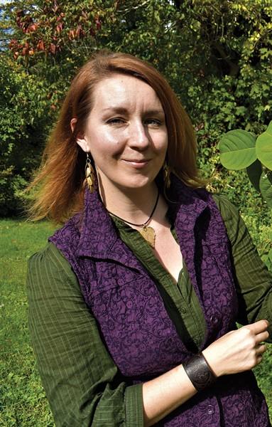 Horticulturist Laura Wyeth. - LARRY DECKER