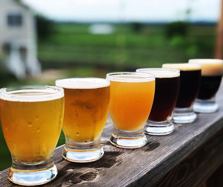 Pine Island Brewing Company is one of five breweries on the Dirt Brew Hop itinerary.