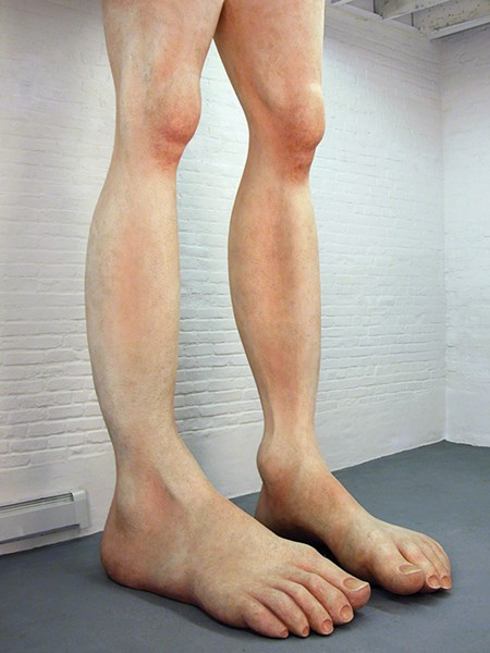Hans van Meeuwen's A Man's Height.