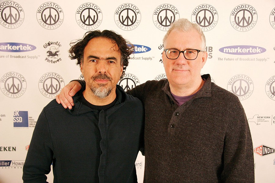 Alejandro Iñárritu and David Linde