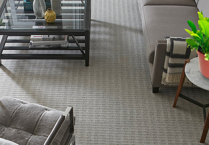Karastan's Highland Tweed wool carpeting is the perfect choice for any setting that would benefit from the timeless beauty of a classic tweed pattern while ensuring optimal long-term health for all members of your family.