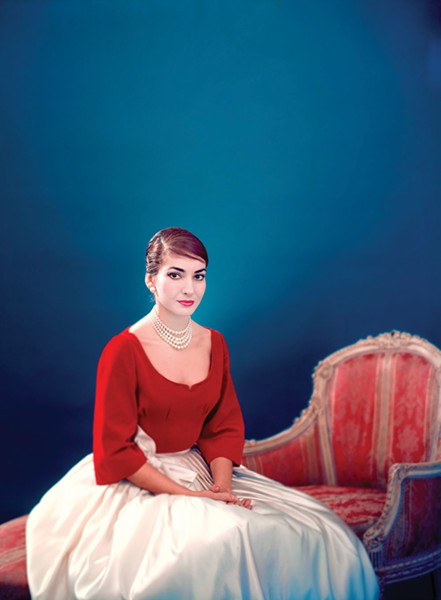 A still from Maria by Callas.