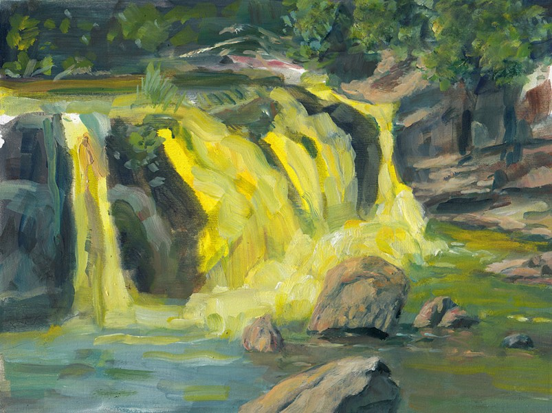 AMY TALLUTO, WATERFALL