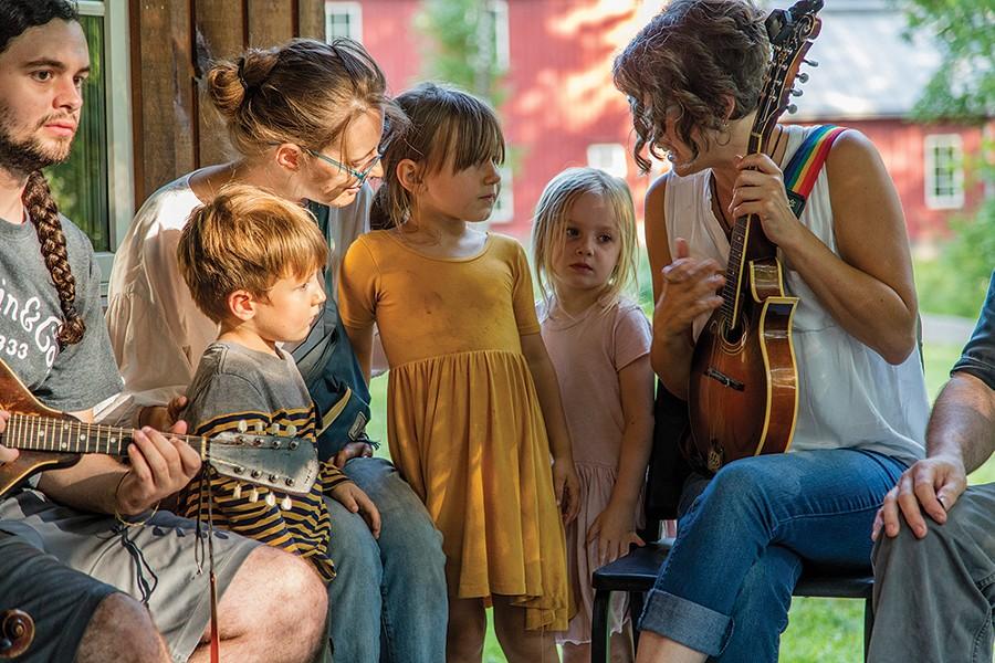 The Ashokan Center's Family Camp 2018. - PHOTO BY STUART DEAN, IMAGOVITAE.ORG