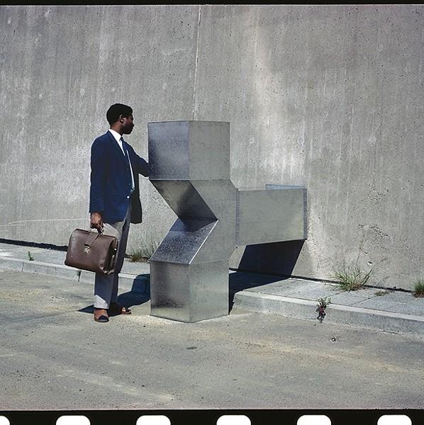 Charlotte Posenenske, Vierantrohr (Square Tube), Series D, 1967. Installation view, Offenbach, Germany, 1967. - © ESTATE OF CHARLOTTE POSENENSKE. COURTESY ESTATE OF CHARLOTTE POSENENSKE, MEHDI CHOUAKRI, BERLIN AND PETER FREEMAN, NEW YORK