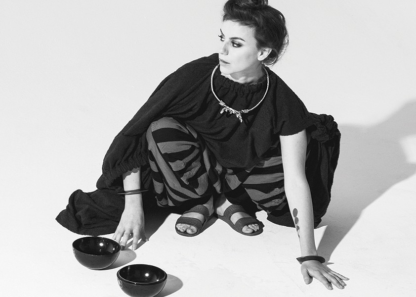 Deradoorian plays the 24-Hour Drone festival at Basilica Hudson, April 27-28. - PHOTO: BENNET PEREZ