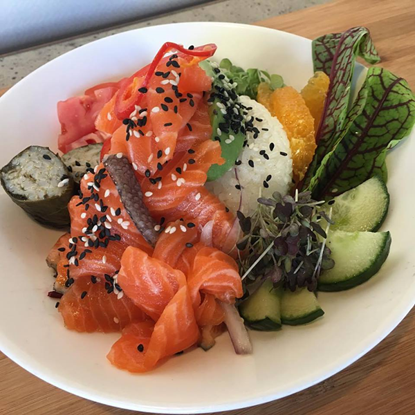 New York Steelhead Poke Bowl at 273kitchen